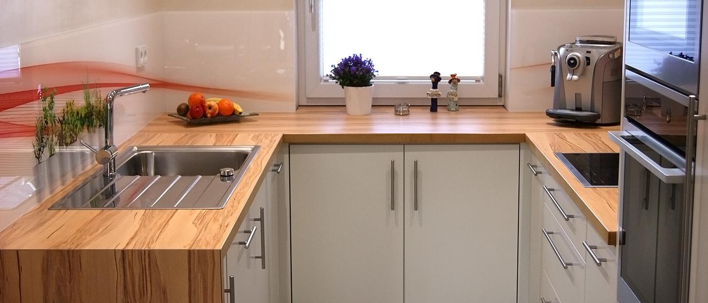 Maß gefertigte Einbauküche U-Form