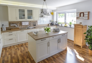 Boden-Küche-Landhausstil
